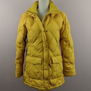 Land's End Quilted Goosedown/Feathers Winter Coat